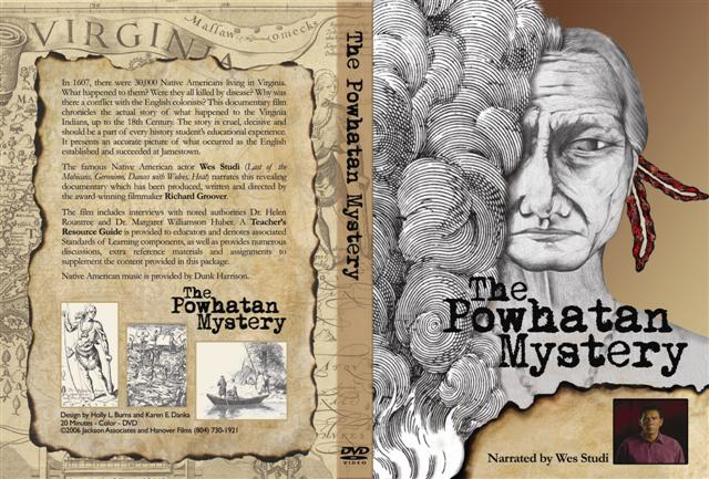 Powhatan MysteryDVD Cover film by Richard Groover